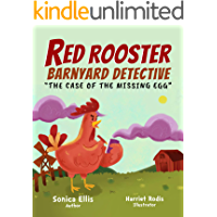 Red Rooster Barnyard Detective: Farm Animal Book For Kids