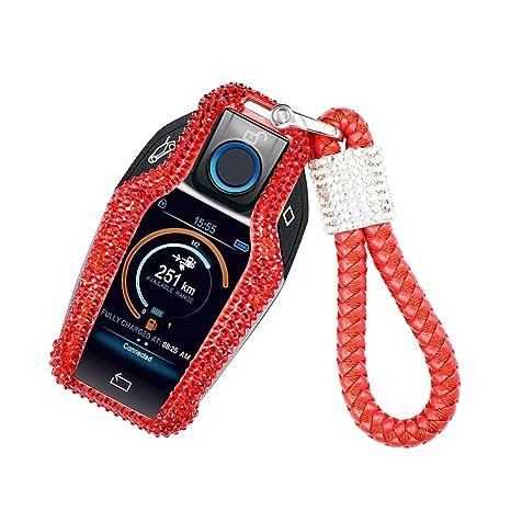 Amazon.com: MissBlue - Carcasa para llave de BMW LCD remota ...