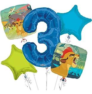 Amazon.com: Lion guard ramo de globos 6th cumpleaños 5 ...