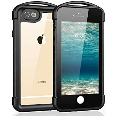 premium selection 726e8 0d664 iPhone 6 iPhone 6S Waterproof Case, Singdo Outdoor Underwater Full Body  Protective Cover Snowproof Dustproof Rugged IP68 Certified Waterproof Case  for ...