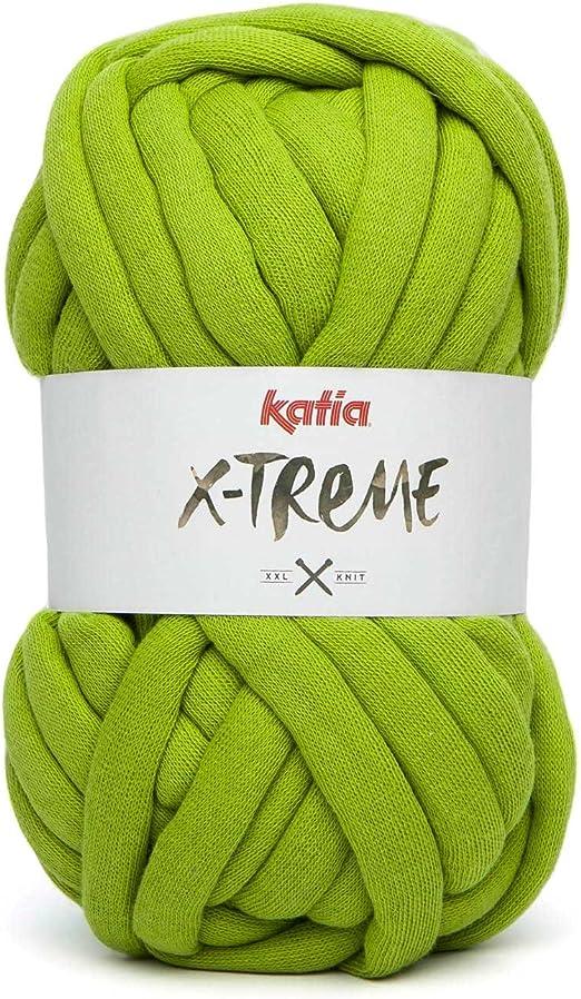 Katia X-Treme - Ovillo de lana XXL para tejer y hacer ...