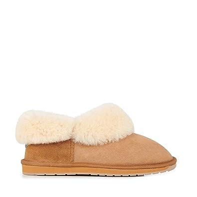 8a4fc1871270 EMU Australia Womens Slippers Platinum Mintaro Sheepskin Slipper Size 6
