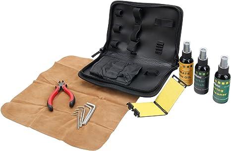 Rocktile GPS-1 kit para el cuidado de su guitarra en estuche: Amazon.es: Instrumentos musicales