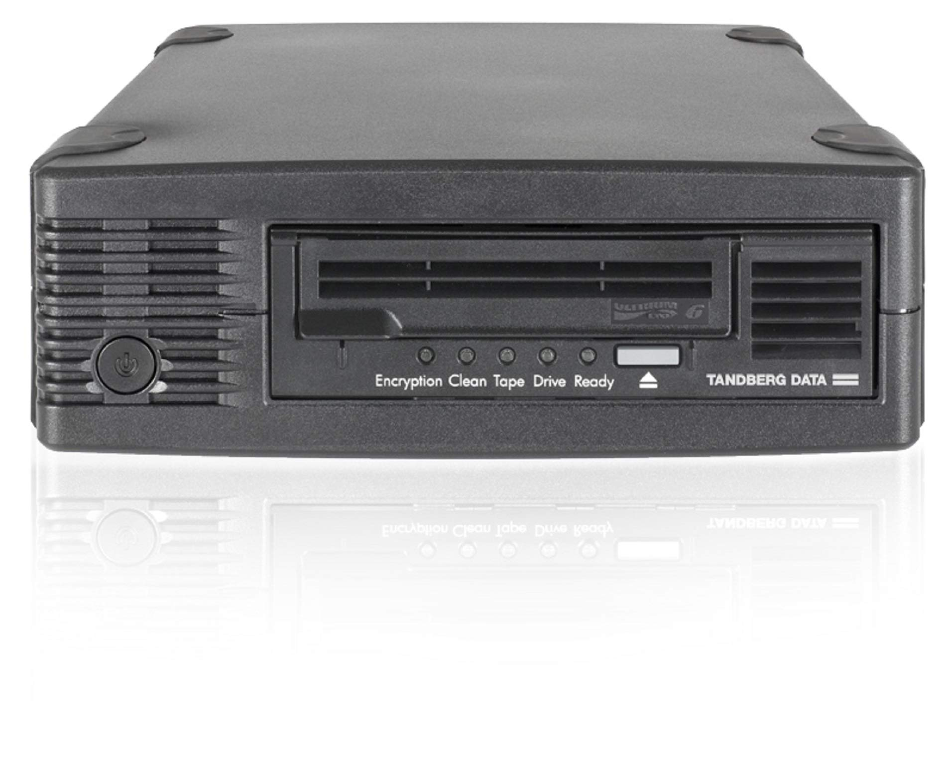 Overland TD-LTO6XSA Storage 2.5/6.25TB LTO6 SAS External HH Tape Drive Black with Media Components Other