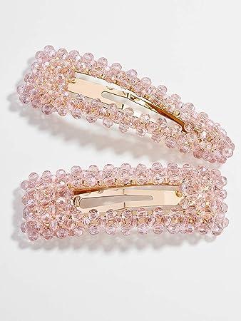 Fashion Women Hair Slide Clips Snap Barrette Hairpin Pins Hair Accessories Gifts
