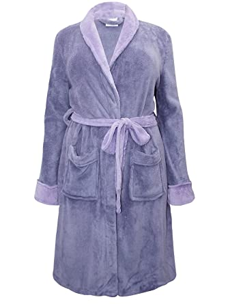 248777c7bf42 La Redoute Womens Super Quality Lilac Purple Plus Size Dressing Gown House  Coat from  Amazon.co.uk  Clothing