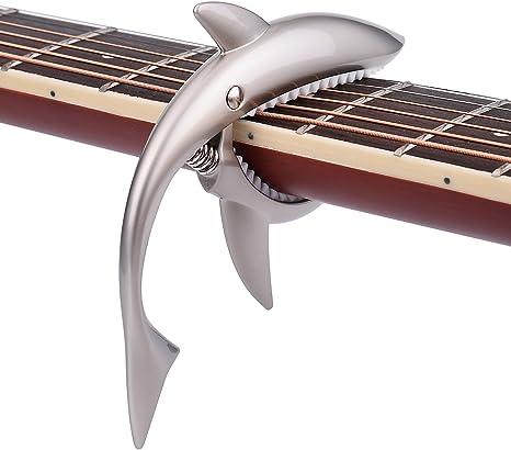 Tornado Cejilla de guitarra eléctrica accesorios gatillo ukelele ...