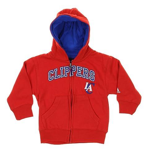 Adidas – Gorra del Equipo de Baloncesto de la NBA Los Angeles Clippers niños Sudadera con