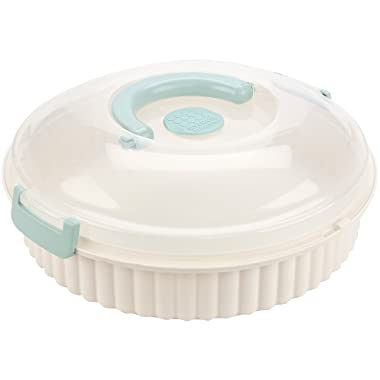 Sweet Creations, vented, locking multi purpose pie carrier, cookies, party platter