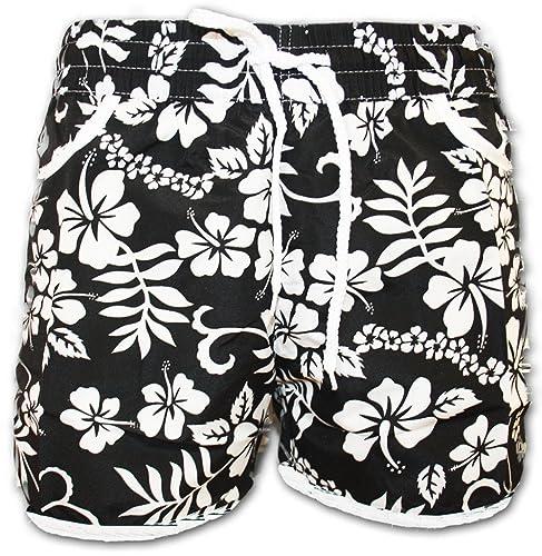 A-Express® Girls Ladies Floral Flower Print Board Swim Beach Shorts