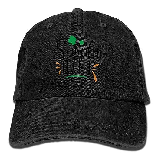 Simply Lucky Snapback Cap Plain Blank Caps Adjustable Flat Bill Hats for  Men Women 25c434ad64b4