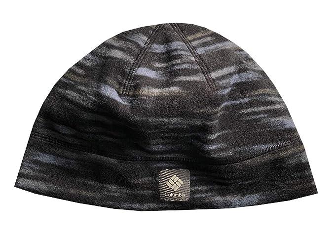 Amazon.com  Columbia Unisex Agent Heat Omni-Heat Thermal Reflective Fleece  Beanie Hat Cap  Clothing 8c77afa3398