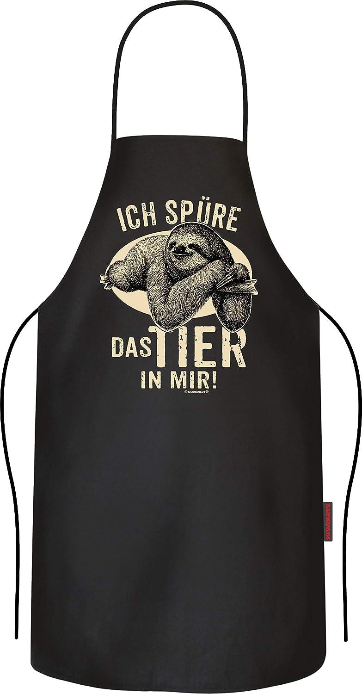 RAHMENLOS Grillsch/ürze f/ür M/änner Das Faultier in Mir