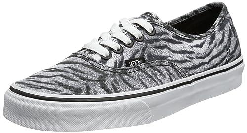 Vans U Authentic (Tiger) Black/T - Zapatillas de Lona Unisex: Amazon.es: Zapatos y complementos