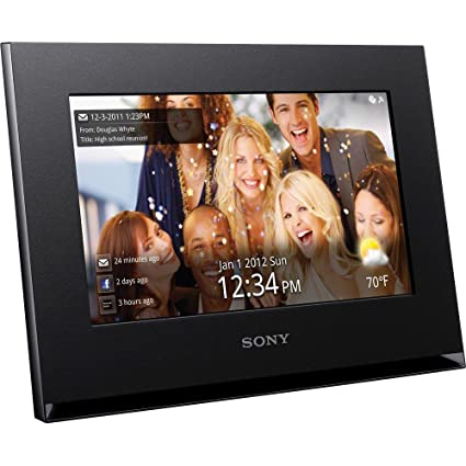 Amazon.com : Sony DPF-WA700/B 7-Inch Digital Photo Frame with Wi-fi ...