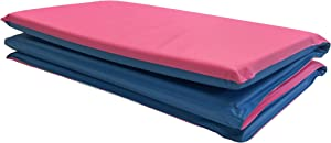 KinderMat Toddler Rest Mat with Pillow, 3/4 Inch Thickness, 8-mil Vinyl