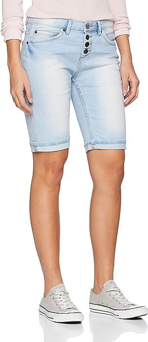 078e3e54ee7797 Sublevel Used Jeans Bermuda-Shorts für Damen