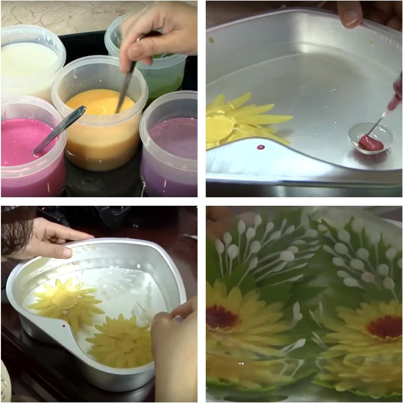 Starter Kit Mini 3D Jelly Gelatin Tools Gracilaria Art Jello Cake Gerbera Mini Kit #3