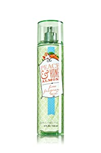 Bath & Body Works Peach & Honey Almond Fine Fragrance Mist 8 oz