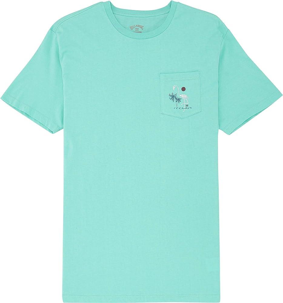 BILLABONG™ - Camiseta - Hombre - S - Azul: Amazon.es: Ropa y accesorios