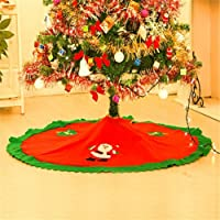 MFCreative 1PC 90cm Falda de árbol de Navidad