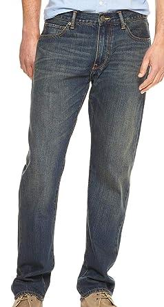 d1aa28e221 GAP Mens Straight Fit Dark Wash Jeans (32x32) at Amazon Men s ...
