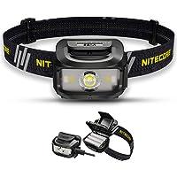 Nitecore NU35 Headlamp Torch Rechargeable - Dual Power Hybrid - LED 460 Lumens - IP66 Waterproof/Red Light Head-Torch