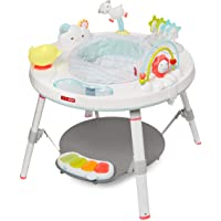 Skip Hop Baby Activity Center: Interactive Play Center with 3-Stage Grow-with-Me Functionality, 4mo+, Silver Lining…