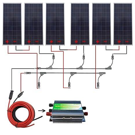 Collegare le celle solari