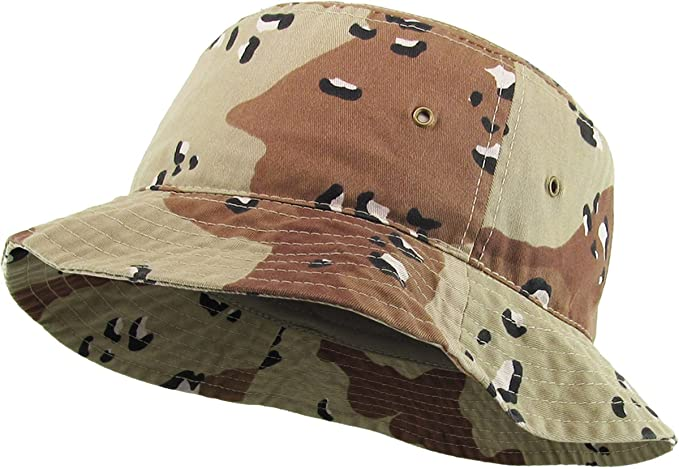 9c56ddc3577 KBETHOS Unisex 100% Washed Cotton Bucket Hat Summer Outdoor Cap at ...