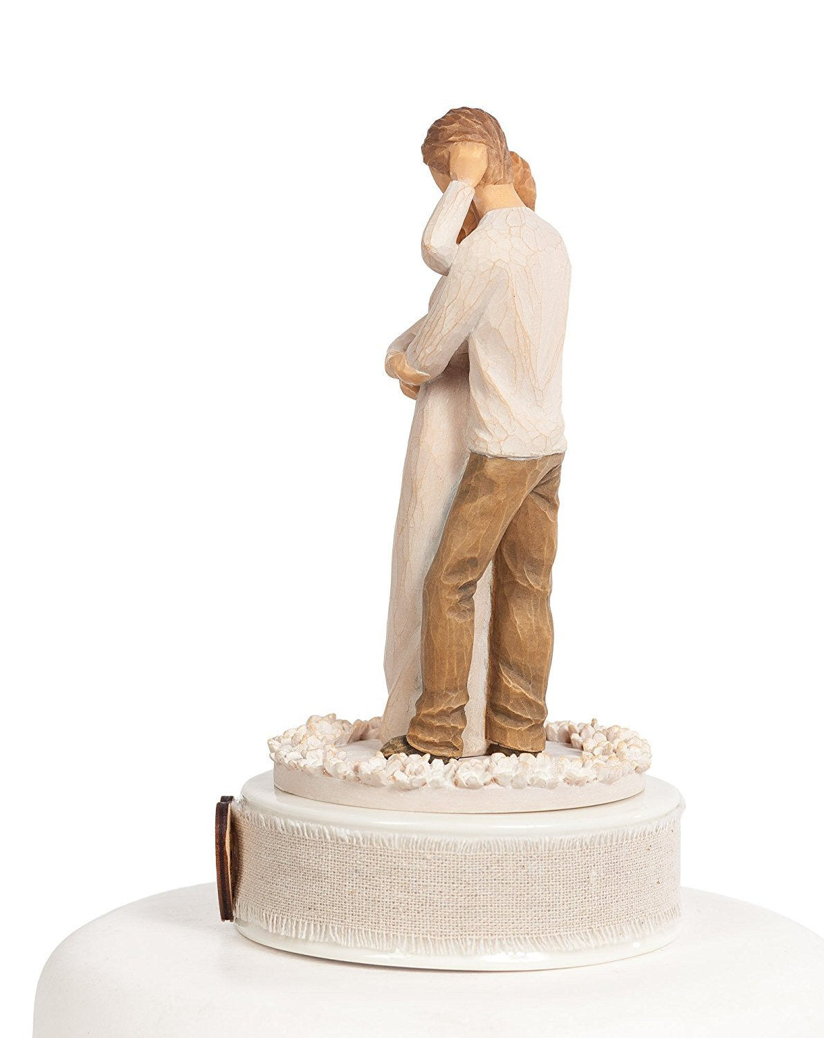 Personalized Willow Tree ''Together'' Wedding Cake Topper ... by DEMDACO - Home (Image #3)
