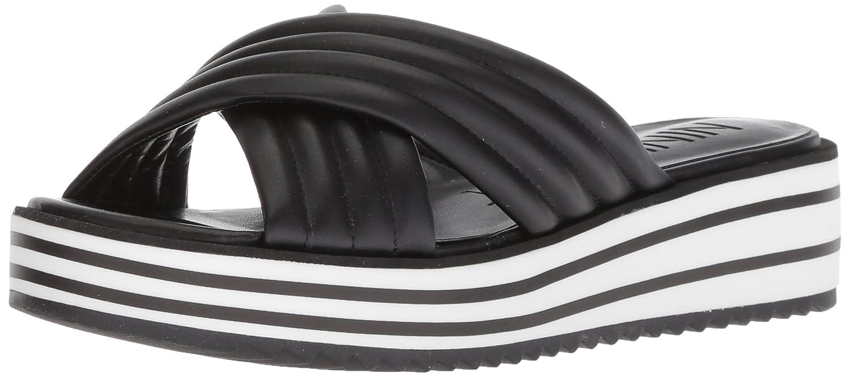Nine West Women's Zonita Slide Sandal B07BMHTPFD 6 B(M) US|Black