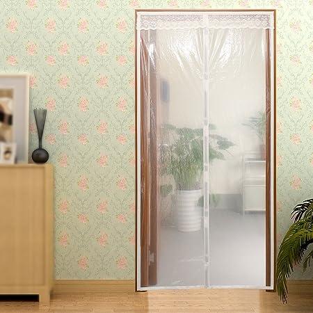 Surpass Transparent Magnetic Thermal Insulated Door Curtain Enjoy