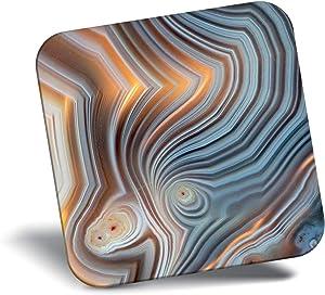 Destination Vinyl ltd Awesome Fridge Magnet - Fun Agate Geode Geology Rock 3079