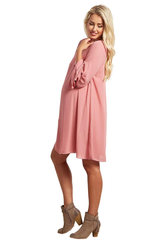 Pinkblush maternity chiffon bell sleeve dress at amazon womens pinkblush maternity chiffon bell sleeve dress at amazon womens clothing store ombrellifo Images