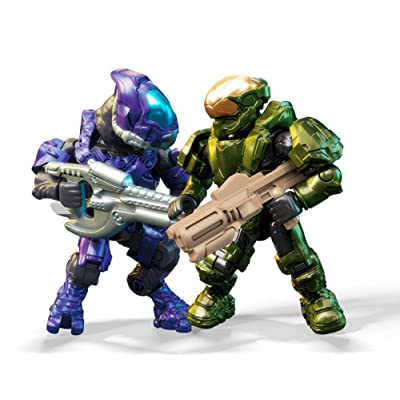 Mega Construx Halo Fireteam Spartan Vs Elites: Toys & Games