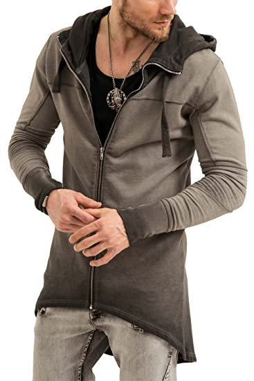 18a7b2a1c trueprodigy Casual Mens Clothes Funny and Cool Designer Sweat Jacket  Sweaters for Men Plain Hooded Slim Fit Long Sleeve Sale, Size:S,  Colours:Black: ...