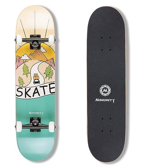 Review MINORITY 32inch Maple Skateboard