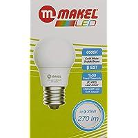 Makel Led Ampul, 3 W, 6500 K, Cold White,