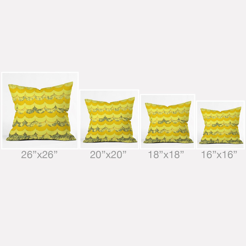 The Pillow Collection Onslow Plaid Bedding Sham Orange Standard//20 x 26,