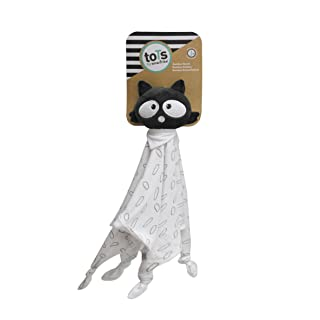 toTs Comforters, Black & White, Raccoon