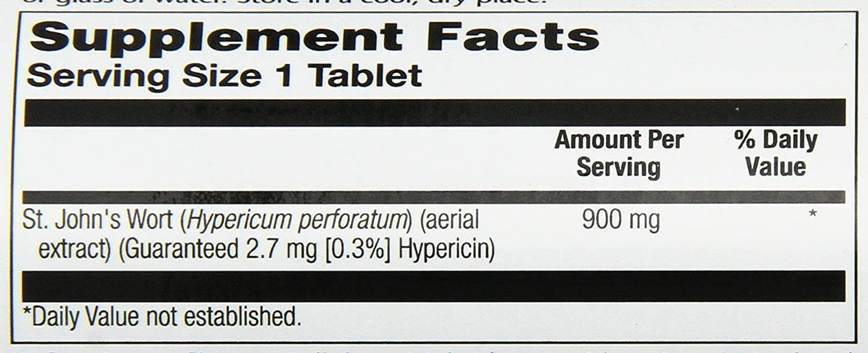 Amazon.com: Solaray One Daily St. John\'s Wort Supplement, 900 mg, 60 ...