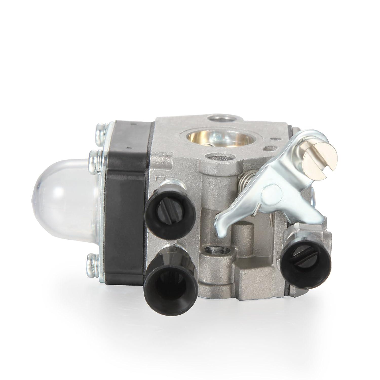 Dromedary Vergaser f/ür Stihl FS45 FS46 FS55 FC55 FS38 HS45 FS74 FS75 FS76 FS80 AS07