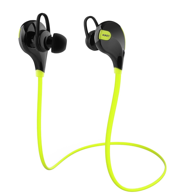 AUKEY Auriculares Bluetooth 4.1 Sport Inalámbrico headphone In Ear ...