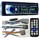 Zetong - Autoradio Stéréo Bluetooth pour Voiture - Lecteur Autoradio de bord FM entrée USB Fm SD MP3 Récepteur Radio (modèle 520)