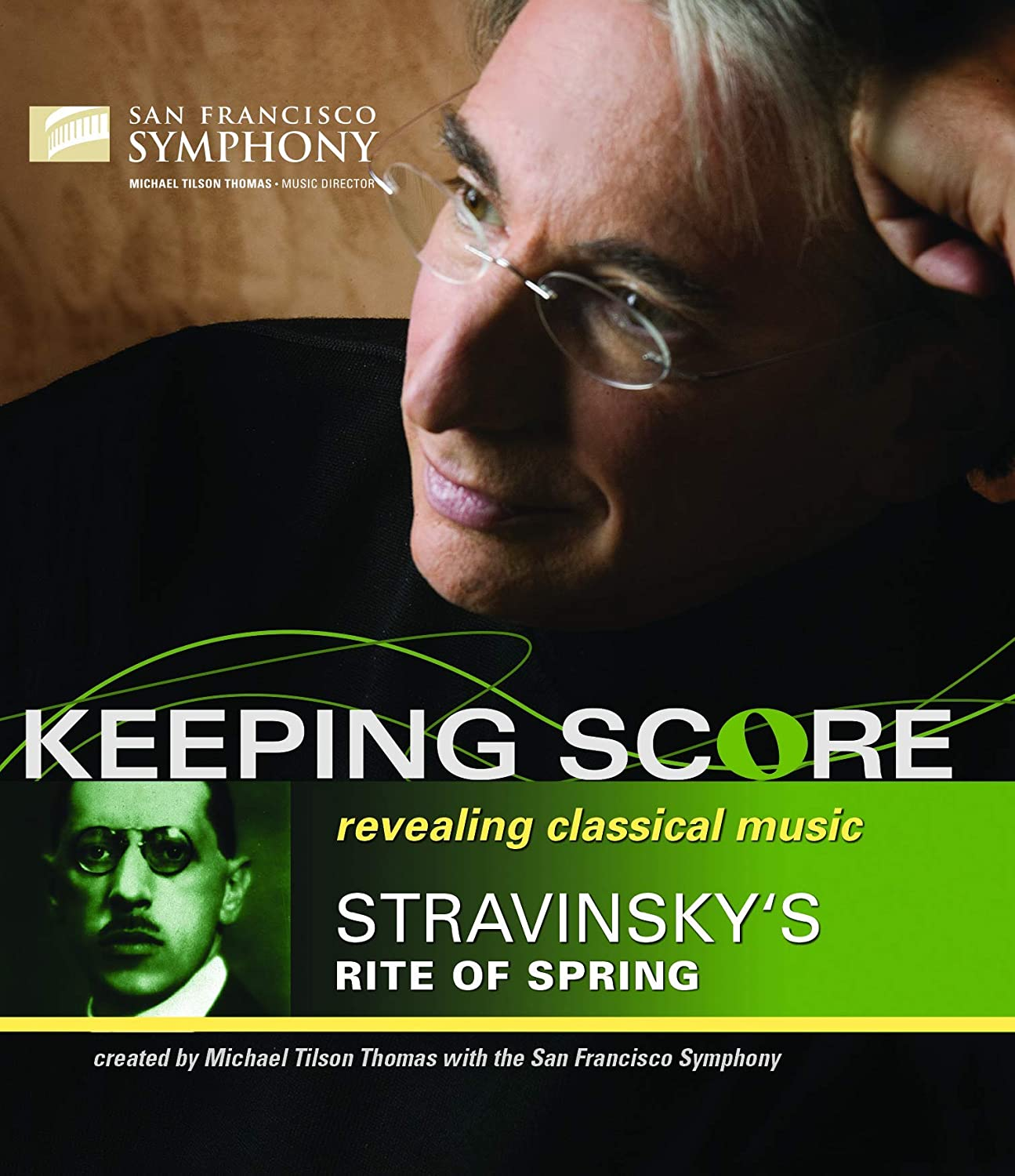 Cover Art for Keeping Score: Igor Stravinsky and The Rite of Spring