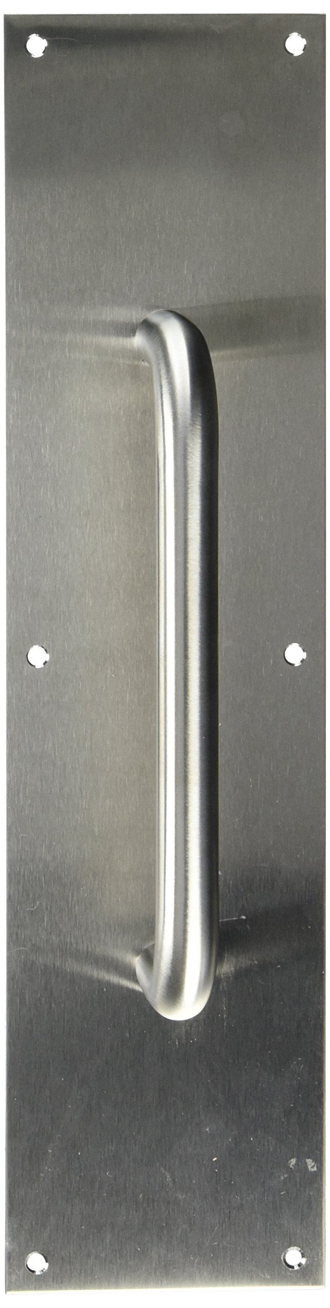 Deltana PPH4016U32D 4-Inch x 16-Inch Stainless Steel Pull Plate with Handle