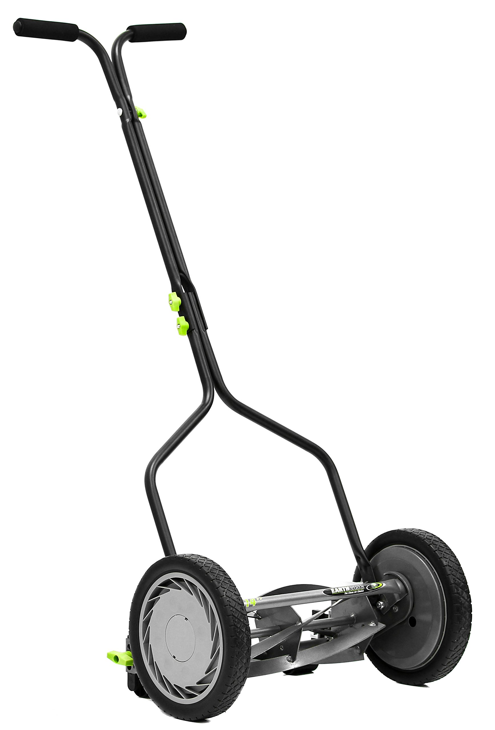 Earthwise 1314-14EW 14-Inch 5-Blade Push Reel Lawn Mower, Grey by Earthwise