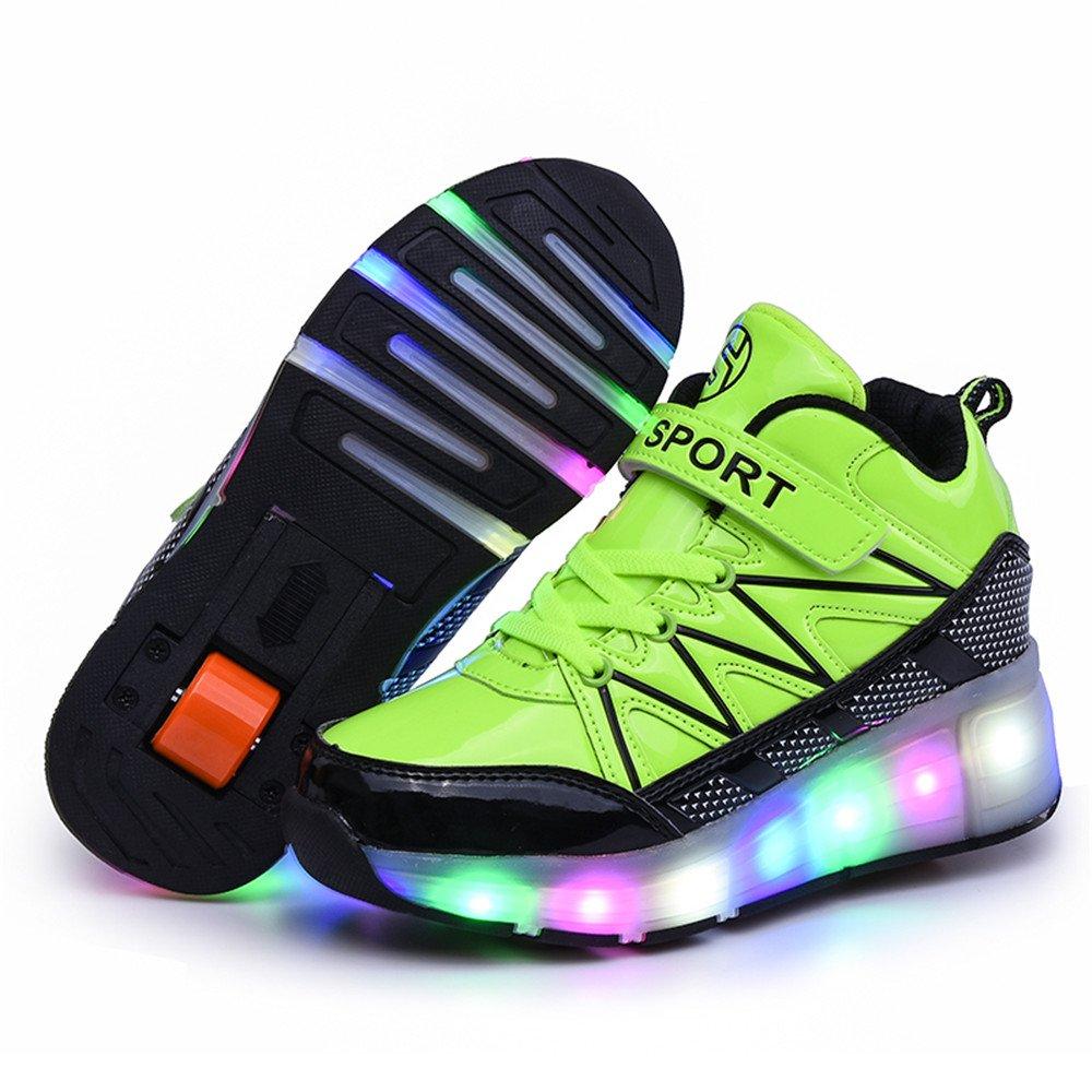 hommes / femmes filles garçons garçons garçons enfants evlyn enfants wheely chaussures chaussures led jusqu'heelys patiner tennis enfants don de haute sécurité hautement apprécié différentes marchandises wa8058 gagner 0b45b8