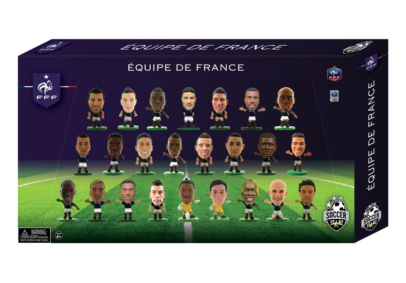 SOCCERSTARZ 402940  Francia 2016  Edition 24  Player Team Pack Creative Toys Company